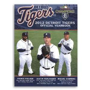2012 Detroit Tigers Official Yearbook