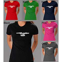 Los Angeles Pop Art Womens Star Trek Shirt