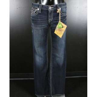 NWT Womens BIG STAR Jeans LOW RISE Boot Cut 5 YEAR FREEDOM w/ LEATHER