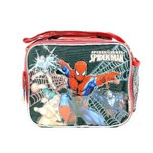 Marvel Spider Sense Spider Man Lunch Bag Black Red Boys