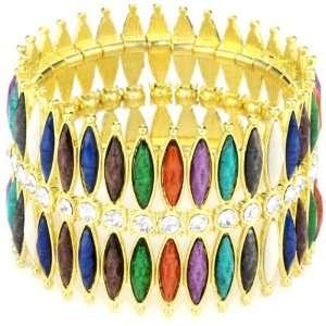Amrita Singh Hamptons Resin and Austrian Crystal with 18k Gold