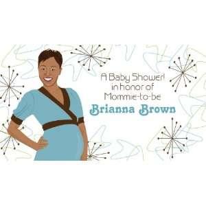 1016B B Retro Baby Shower Banner