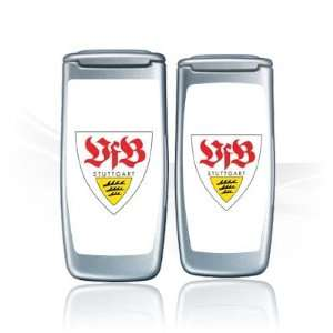 Design Skins for Nokia 2652   VFB Stuttgart Design Folie