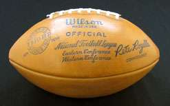 1962 Green Bay Packers team signed football (40 sigs)