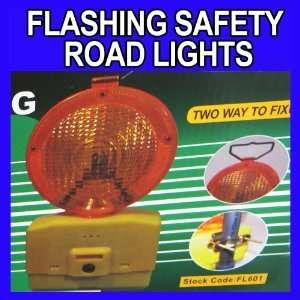 Flashing Safety Road Lights Led Blinking Photosensor Lamp Flash