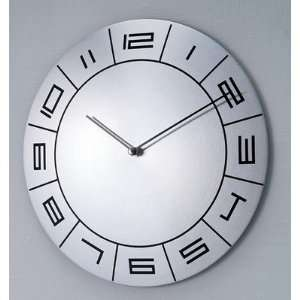 Verichron 1124 AW Metal Time Machine Convex Wall Clock