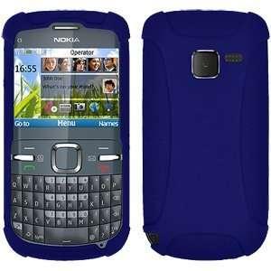 Blue For Nokia C3 Precise Cutouts Fashionable Flexible: Electronics