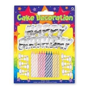 Barney Cake Decorating Kit
