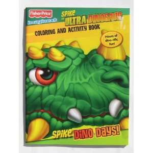 Fisher Price Imaginext Spike Ultra Dinosaur Coloring