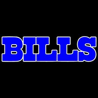 Buffalo Bills RARE 2 Colors of Chrome 8 Auto Car Truck Window Sticker