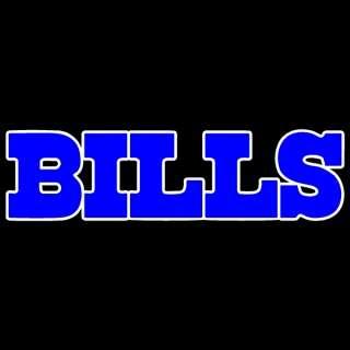 Buffalo Bills RARE 2 Colors of Chrome 8 Auto Car Truck Window Sticker