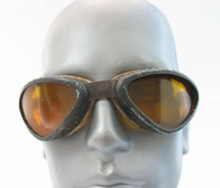 WWII WW2 AVIATOR PILOT? SPECTACLES GOGGLES LOOOK *