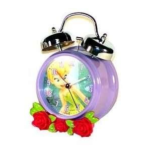 Disney Tinker Bell Twin Bell Alarm Clock