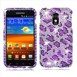 Silver Bling Hard Case Cover for Sprint Samsung Epic 4G Touch D710