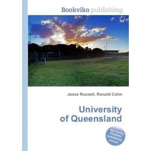 University of Queensland Ronald Cohn Jesse Russell Books