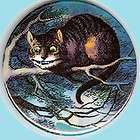cheshire cat 1 pin button badge magnet alice wonderland lewis carroll