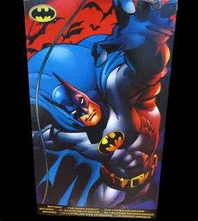 DC COMICS MATTEL DELUXE BLACK BATMAN 12 ACTION FIGURE