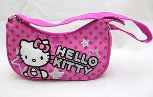 Hello Kitty Kids Mini Purse Hand Bag / Hobo Bag   PINK STAR