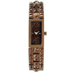 DKNY Watches Womens Brown Stone Bracelet/ Dial Watch