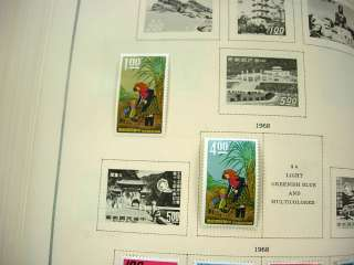 US/WW, CHINA, JAPAN, 100S of Stamps hinged in a Scott International