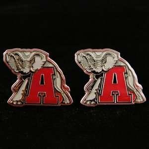 Alabama Crimson Tide Team Post Earrings