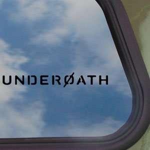 Underoath Black Decal Rock Band Car Truck Window Sticker