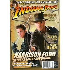 Indiana Jones The Official Magazine #2 Newstand Cover