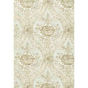 Haddon Hall Damask Mineral by F Schumacher Wallpaper Home Improvement