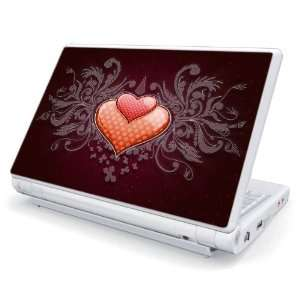 Double Hearts Design Skin Cover Decal Sticker for Acer (Aspire ONE) 8