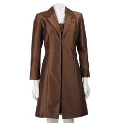 Jessica Howard Womens 3/4 length Satin Jacket/ Dress  Overstock