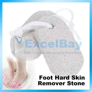 Feet Foot Care Scruber Pumice Stone Rid Callus Skin Foot Clean Stone