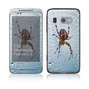 Dewy Spider Decorative Skin Cover Decal Sticker for HTC 7