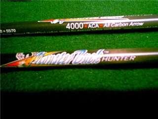 4000 ACA ~6 ~CARBON ARROWS~Archery Long Recurve Compound Bow |