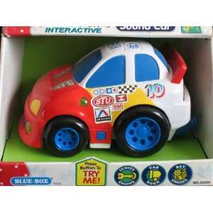BLUE BOX   Hands On   Interactive SOUND CAR Toys & Games