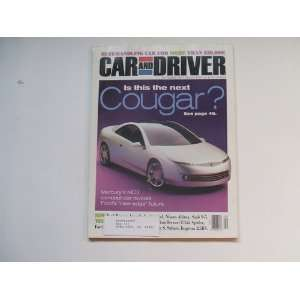CAR AND DRIVER MAGAZINE SEPTEMBER 1997 Books