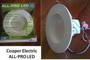 Qty 4   All Pro 6 in. Recessed LED Retrofit Light Trim