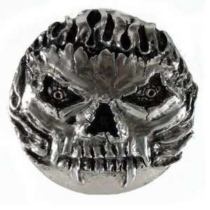 Demon Skull Gas Cap Cover
