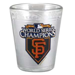 San Francisco Giants 2010 World Series Champions 2oz. High Definition