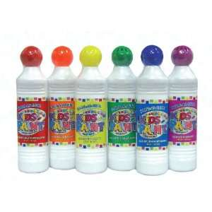 Kids Metallic Paints, 6 colors, art supplies: Office