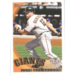 2010 Topps Travis Ishikawa San Francisco Giants World