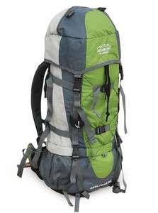 70L Internal Frame Hiking camping Travel Backpack Bag F