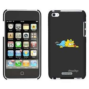 Maggie Simpson on iPod Touch 4 Gumdrop Air Shell Case