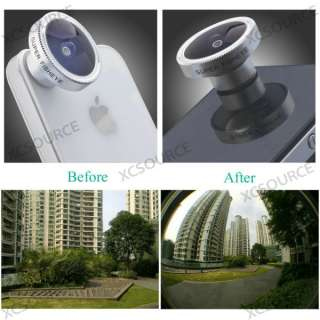 Fish Eye Camera Lens for iPhone 4 4S 4G itouch HTC EVO 3D DC112 |