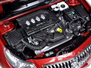 model car of 2010 Buick Regal 2.4L Red Jewel Tintcoat die cast car