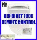 bio bidet bb 1000 round electronic toilet seat remote control