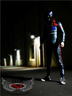 Downhill Skateboarding Luge Speed Kangaroo Leather Suit