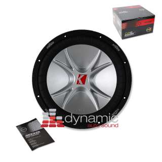 kicker solo baric s12d 1 way 12 car subwoofer. Black Bedroom Furniture Sets. Home Design Ideas