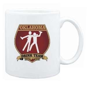 New  Oklahoma Drink Team Sign   Drunks Shield  Mug