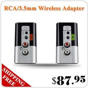 5mm RCA 2.4GHz Wireless Speaker HiFi Audio Adapter Transmitter GIFT