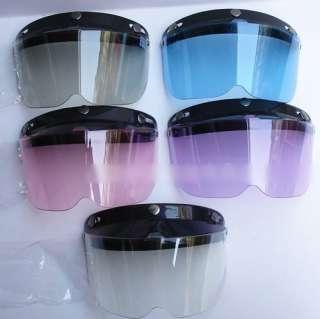 Helmet Visor Face Wind Shield Mask    Half Face Design(10cm)